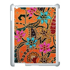 Colorful The Beautiful Of Art Indonesian Batik Pattern(1) Apple Ipad 3/4 Case (white)