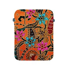 Colorful The Beautiful Of Art Indonesian Batik Pattern(1) Apple Ipad 2/3/4 Protective Soft Cases