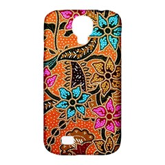 Colorful The Beautiful Of Art Indonesian Batik Pattern(1) Samsung Galaxy S4 Classic Hardshell Case (pc+silicone)