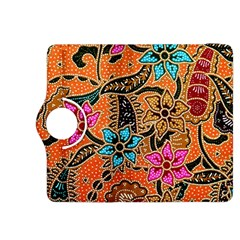 Colorful The Beautiful Of Art Indonesian Batik Pattern(1) Kindle Fire Hdx 8 9  Flip 360 Case