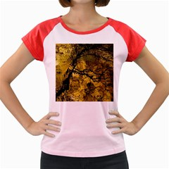 Colorful The Beautiful Of Traditional Art Indonesian Batik Pattern Women s Cap Sleeve T Shirt