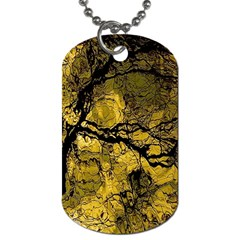 Colorful The Beautiful Of Traditional Art Indonesian Batik Pattern Dog Tag (one Side)
