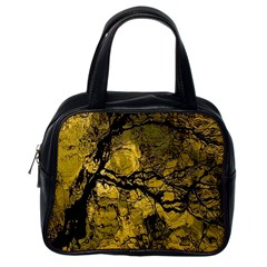 Colorful The Beautiful Of Traditional Art Indonesian Batik Pattern Classic Handbags (one Side)