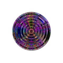 Color In The Round Magnet 3  (round)