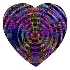 Color In The Round Jigsaw Puzzle (heart)