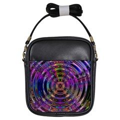 Color In The Round Girls Sling Bags