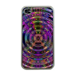 Color In The Round Apple Iphone 4 Case (clear)