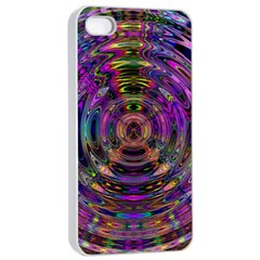 Color In The Round Apple Iphone 4/4s Seamless Case (white)