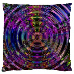 Color In The Round Large Cushion Case (two Sides)