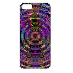 Color In The Round Apple Iphone 5 Seamless Case (white)