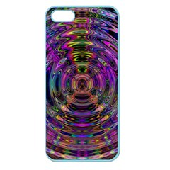 Color In The Round Apple Seamless Iphone 5 Case (color)