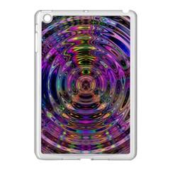 Color In The Round Apple Ipad Mini Case (white)