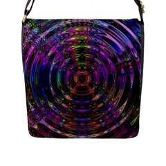 Color In The Round Flap Messenger Bag (l)