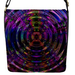 Color In The Round Flap Messenger Bag (s)