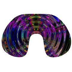 Color In The Round Travel Neck Pillows