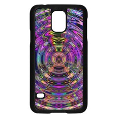 Color In The Round Samsung Galaxy S5 Case (black)