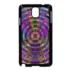 Color In The Round Samsung Galaxy Note 3 Neo Hardshell Case (black)