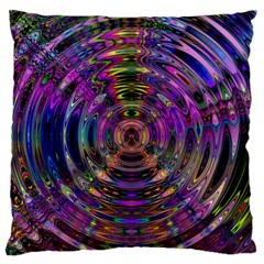 Color In The Round Standard Flano Cushion Case (one Side)