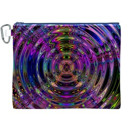 Color In The Round Canvas Cosmetic Bag (xxxl)