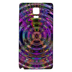 Color In The Round Galaxy Note 4 Back Case