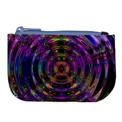 Color In The Round Large Coin Purse