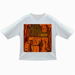 Circuit Board Pattern Infant/toddler T Shirts