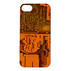 Circuit Board Pattern Apple Iphone 5s/ Se Hardshell Case