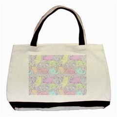 Cat Animal Pet Pattern Basic Tote Bag