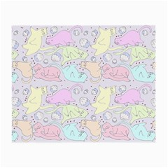 Cat Animal Pet Pattern Small Glasses Cloth (2 Side)
