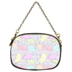 Cat Animal Pet Pattern Chain Purses (two Sides)