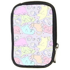 Cat Animal Pet Pattern Compact Camera Cases