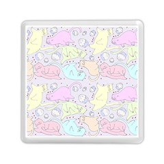 Cat Animal Pet Pattern Memory Card Reader (square)