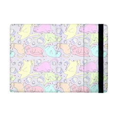 Cat Animal Pet Pattern Apple Ipad Mini Flip Case