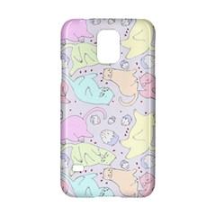 Cat Animal Pet Pattern Samsung Galaxy S5 Hardshell Case