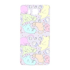 Cat Animal Pet Pattern Samsung Galaxy Alpha Hardshell Back Case