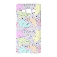 Cat Animal Pet Pattern Samsung Galaxy A5 Hardshell Case