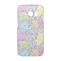 Cat Animal Pet Pattern Galaxy S6 Edge