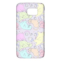 Cat Animal Pet Pattern Galaxy S6