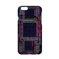 Cad Technology Circuit Board Layout Pattern Apple Iphone 6/6s Hardshell Case