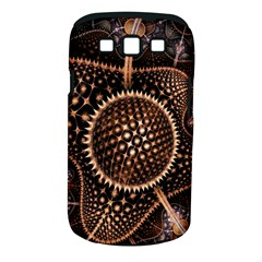 Brown Fractal Balls And Circles Samsung Galaxy S Iii Classic Hardshell Case (pc+silicone)