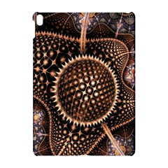 Brown Fractal Balls And Circles Apple Ipad Pro 10 5   Hardshell Case