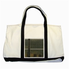 Building Pattern Two Tone Tote Bag