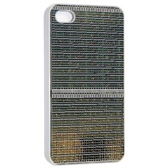 Building Pattern Apple Iphone 4/4s Seamless Case (white)