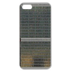 Building Pattern Apple Seamless Iphone 5 Case (clear)