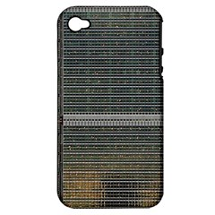 Building Pattern Apple Iphone 4/4s Hardshell Case (pc+silicone)