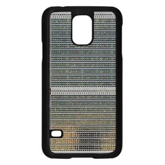 Building Pattern Samsung Galaxy S5 Case (black)