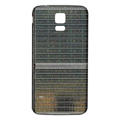 Building Pattern Samsung Galaxy S5 Back Case (white)