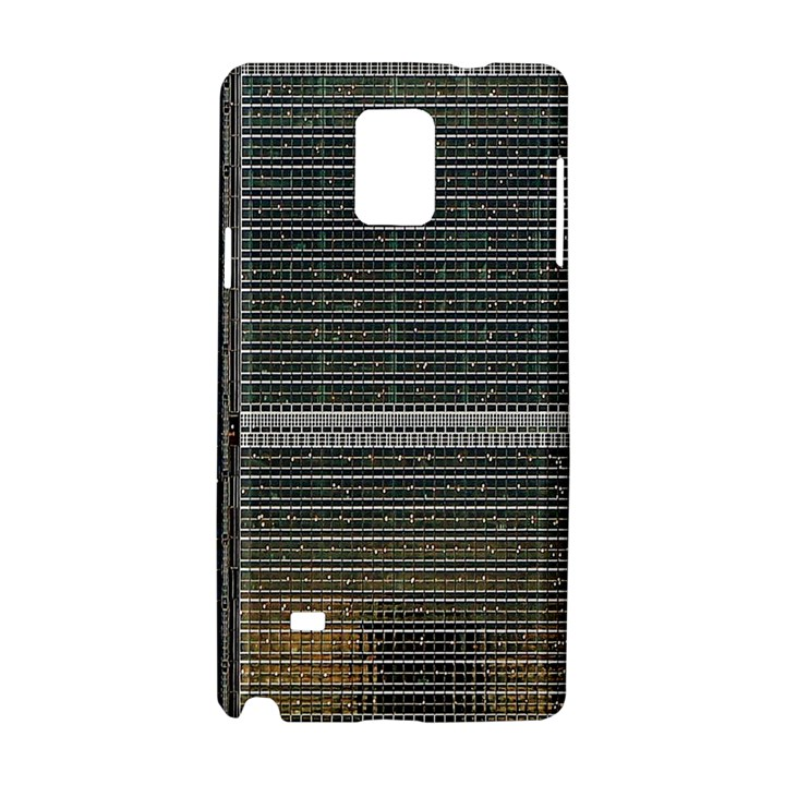 Building Pattern Samsung Galaxy Note 4 Hardshell Case