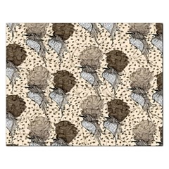 Bouffant Birds Rectangular Jigsaw Puzzl