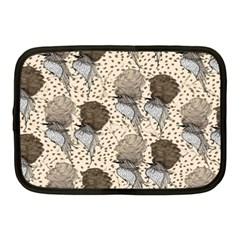 Bouffant Birds Netbook Case (medium)